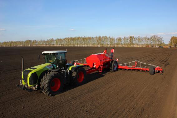 Агропартс: CLAAS і HORSCH встановили світовий рекорд з посіву кукурудзи